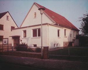 Gemeinschaftshaus mit neuem Vorbau