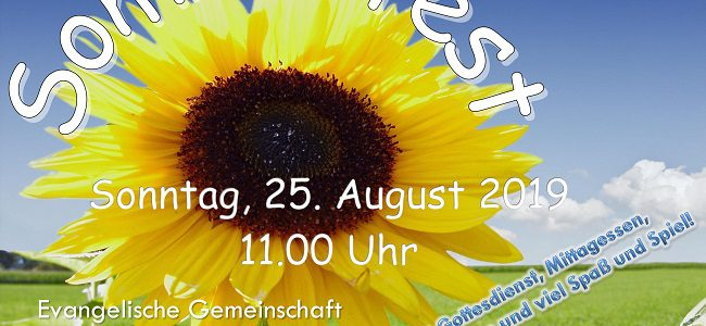 Herzliche Einladung zu unserem Sommerfest